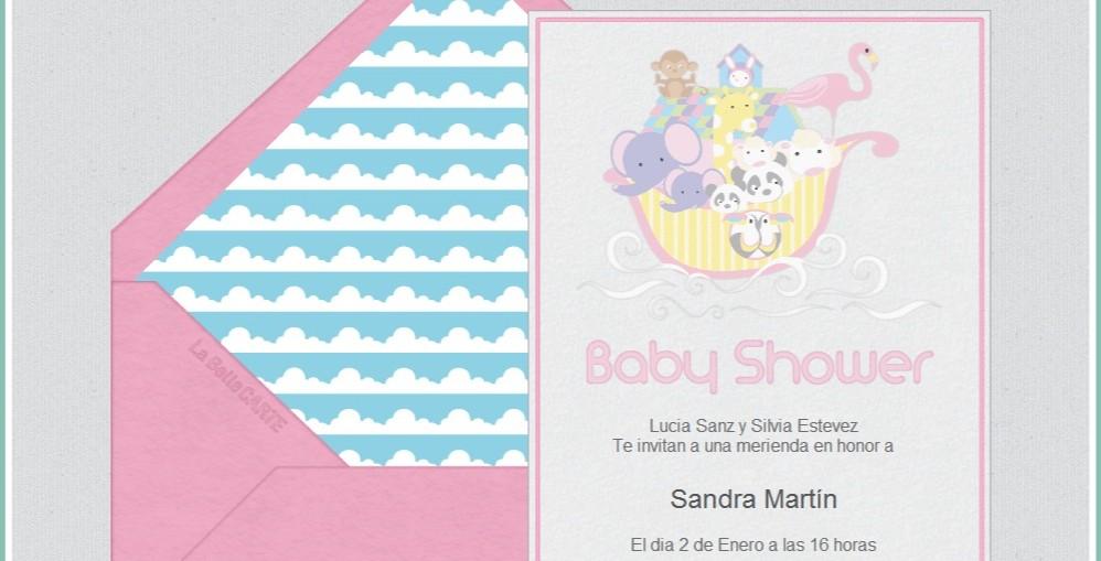44bc865cbfb2d Listas de Regalo e invitaciones para Baby Shower en LaBelleCarte ...