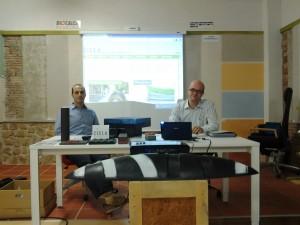 Ruben Ealo y Gregorio Borge, de Zicla Bilbao