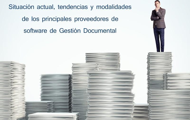 Portada del Estudio sobre la comercialización del software de Gestión Documental