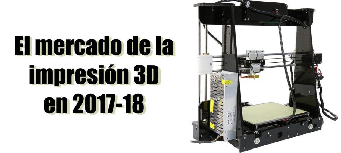 Mercado de la impresión 3D en 2018