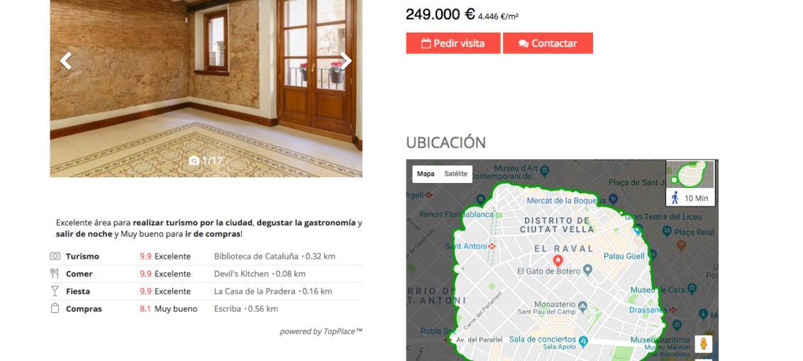 Bienes raíces en España es sitio oficial de bajo costo
