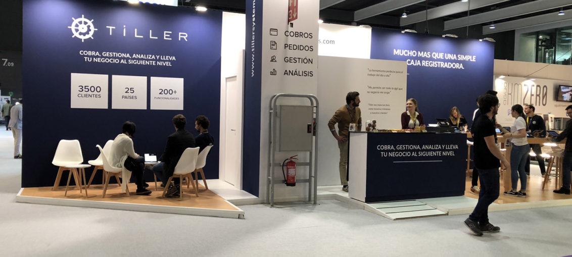 Trade Show Displays Barcelona, Adam ExpoStand exhibit builder