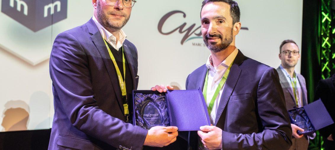 """Cysnet Software, premio """"Mejor Experiencia Personalizada B2B"""""""
